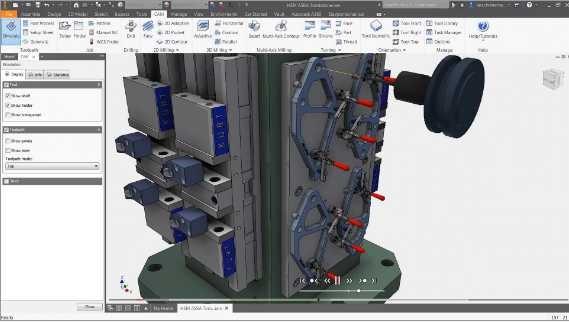 仅产品设计与制造软件集中提供 Inventor CAM