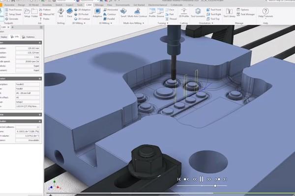 Autodesk Inventor 使用熟悉的界面将您的创意转变为加工零件